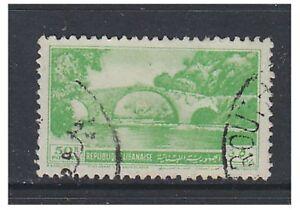 Liban - 1950,50p Vert - Pont Tampon - D'Occasion - Sg 415