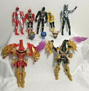 Bandai Power Rangers Huge 10 Figure Lot MMPR MegaForce Sentai Mystic Funko Pop