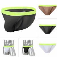 Herren Slip Sexy Soft Low Rise Underwear Low-Rise Männer Solid Pouch Unterhose