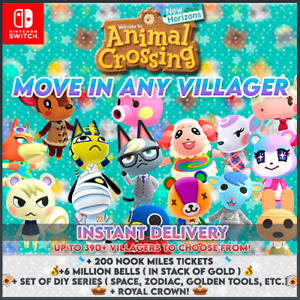 ANIMAL CROSSING NEW HORIZONS | PICK ANY VILLAGER