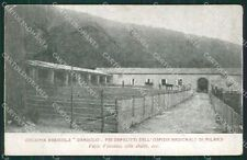 Varese Valganna Colonia Agricola Dandolo PIEGHINE cartolina QK5785