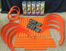 HO Wheels - HUGE 40pc TRACK LOT NEW Includes 2 POWER BOOSTERS AWESOME X-MAS GIFT