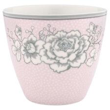 GreenGate DK Floral Latte Cup in Ella Pale Pink