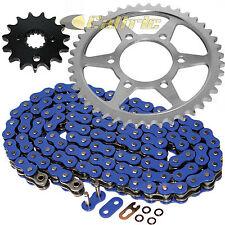 Blue O-Ring Drive Chain & Sprockets Kit Fits SUZUKI GSX-R750 1990 1991 1992