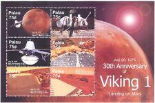 Palau 2006 MARS/Espace/Viking I/Lander/Planètes/Astronomie/science 6 V M/S (n17157f)