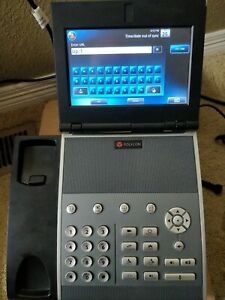 Polycom VVX  1500 VOIP Phone w/ power supply - Video Endpoint