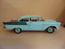 "Highway 61 collectibles 1:18 scale 1957 Chevrolet ""150"" utility sedan"