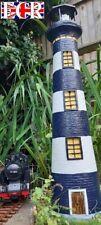 More details for 75cm giant outdoor rotating solar lighthouse g scale garden railway light house