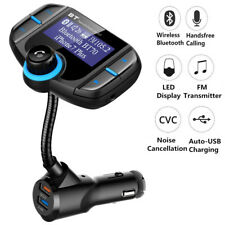 Auto Bluetooth FM Transmitter KFZ MP3 Musik Player Freisprechanlage USB TF AUX
