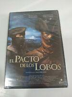 El Pacto de los Lobos Christophe Gans - DVD Slim REGION 2 Nuevo