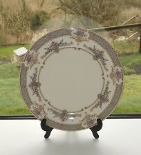 Minton English Bone China Persian Rose Dinner Plate 27cm. Floral Panels Cream