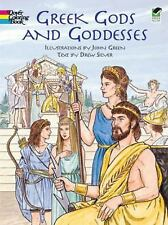 Greek Gods and Goddesses (Dover Classic Stories Coloring Book)-ExLibrary