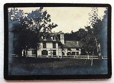 CDV PHOTO maison bourgeoise avec colombages Normandie ? E480