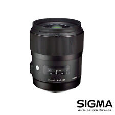 Sigma 35mm f/1.4 DG HSM Art Lens for Canon ***USA AUTHORIZED***