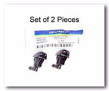 Set 2 Windshield Washer Nozzle Front Dual Holes Fits: Honda Civic 1998-2000