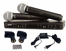 Shure Dual Handheld UHF Wireless Microphone System BLX288/PG58 J10