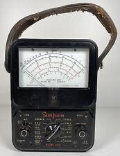 Vintage Simpson 260 Volt Ohm Milliameter Test