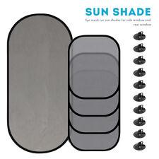 5Pcs Side Rear Window Screen Mesh Sunshade Sun Shade For Car UV Protection