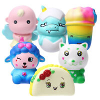 Adorable Slow Rising Soft Scented Cake Flexible Toy Stress Reliever Toy Gift