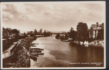 Herefordshire Postcard - Regatta Course, Hereford      RS8771