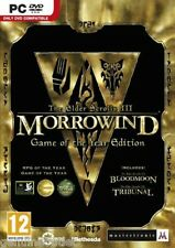The Elder Scrolls III 3 Morrowind Game of the Year Edition (PC DVD) SEALED NEW
