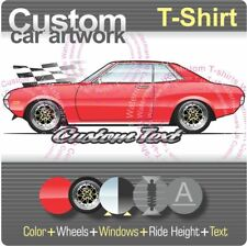Custom T-shirt 1970 70 1971 72 1973 74 Toyota Celica LT GT ST RA20 TA22 2.2 2000
