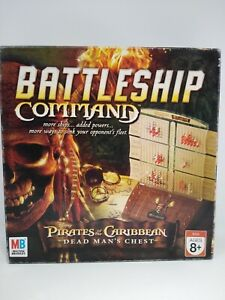 Pirates of the Caribbean Battleship Command Game Milton Bradley Complete