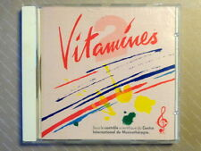 VITAMINES 2  -  60 MINUTES TONIQUES D'EXPRESSIONS POSITIVES -  CD OTTIMO STATO