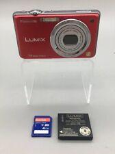 Panasonic Lumix DMC-FH3 Digital Camera + Battery + SD Card - Fast Ship - D01