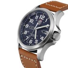 c6fc4c7cba4 Luminox XL.1924 ATACAMA FIELD Day Date 45mm Men s Leather Strap Watch