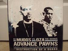 """DJ MUGGS vs GZA - ADVANCE PAWNS (12"""")  2005!!!  RARE!!!  RZA + RAEKWON!!!"""