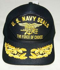 US NAVY CAP ORIGINAL US NAVY SEALS Made in USA Double Eggs One Size Fits All