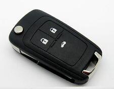 Remote key fob case for Chevrolet Cruze Aveo with 3 buttons and hu100 blade