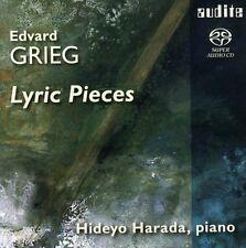Hideyo Harada, E. Grieg - Lyric Pieces [New SACD] Hybrid SACD