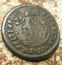 Well Centered, 24 mm, 5.46 g, VF+ Constans Centenionalis. Siscia, AD 348-350!