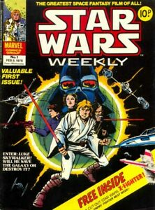 20 X Star Wars Weekly Comic Bags and Boards CRYSTAL CLEAR