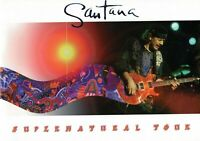 SANTANA 2000 SUPERNATURAL TOUR CONCERT PROGRAM BOOK BOOKLET-CARLOS SANTANA-NM~MT