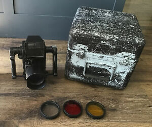 KE-28A Chicago Aerial Industries Spy Recon Camera WWII Plane Bomber IN CASE