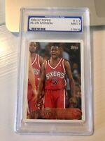 🔥Allen Iverson 1996-97 Topps RC #171 PGS 9 Mint Rookie Card (Regrade PSA 9-10 ?