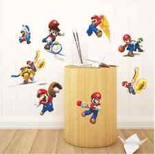 Jeux super mario bros vinyle art mur autocollants décalcomanie murale kids nursery decor uk