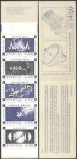 Sweden 1987 Nobel Prize Winners/Science/Physics/Space/Stars 5v bklt (n45380)
