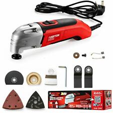 Dekton 37pc Multi Function Oscillating Power Tool Sander Saw Scraper Tool 300w