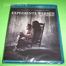 EXPEDIENTE WARREN THE CONJURING BLU-RAY NUEVO Y PRECINTADO