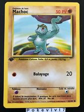 Carte Pokemon MACHOC 52/102 Set de Base Wizard Edition 1 FR NEUF