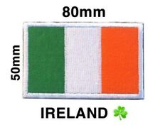 Ireland National Flag Eire Tricolour Velcro Badge St Patrick's Day