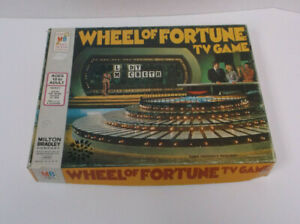 WHEEL OF FORTUNE TV GAME - FIRST EDITION - Complete - 1975 - MILTON BRADLEY