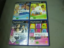 4 x Playstation 2 Sing Star,  PS2,  80er , Boy Bands , Party  (110)