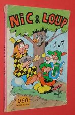 NIC ET LOUP NMPP N°6 / PEPIN DUBOIS / JAN LE MARIN / TOM LE COW-BOY