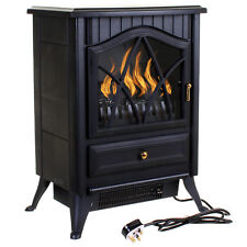 Electric Fireplace 1850w Fire Wood Flame Heater Stove Living Room Log Burner