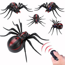 Infrared Remote Control Realistic Mock Fake Spider Rc Toy Prank Insects Roach Ne